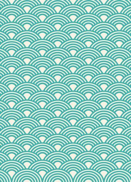 Eastern Waves Light Leinwandbild