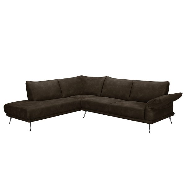 ecksofa milan microfaser ottomane davorstehend rechts ottomane davorstehend links. Black Bedroom Furniture Sets. Home Design Ideas