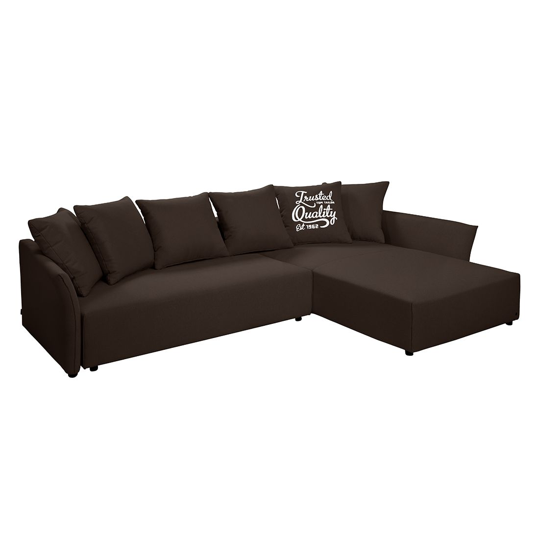 Ecksofa wings casual mit schlaffunktion webstoff for Ecksofa mit schlaffunktion klein
