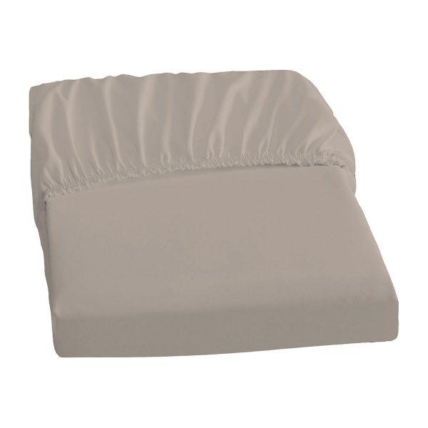 Elastic-Jersey-Spannbetttuch - Basalt - 180-200/200-220 cm