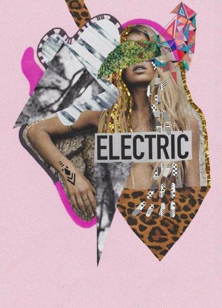 Electric fantasia Leinwandbild