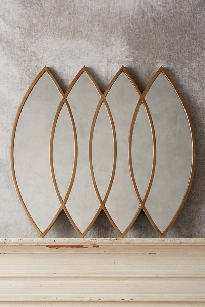 Emerging Ellipses Spiegel - Bronze9571100