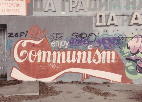 Enjoy Communism Leinwandbild