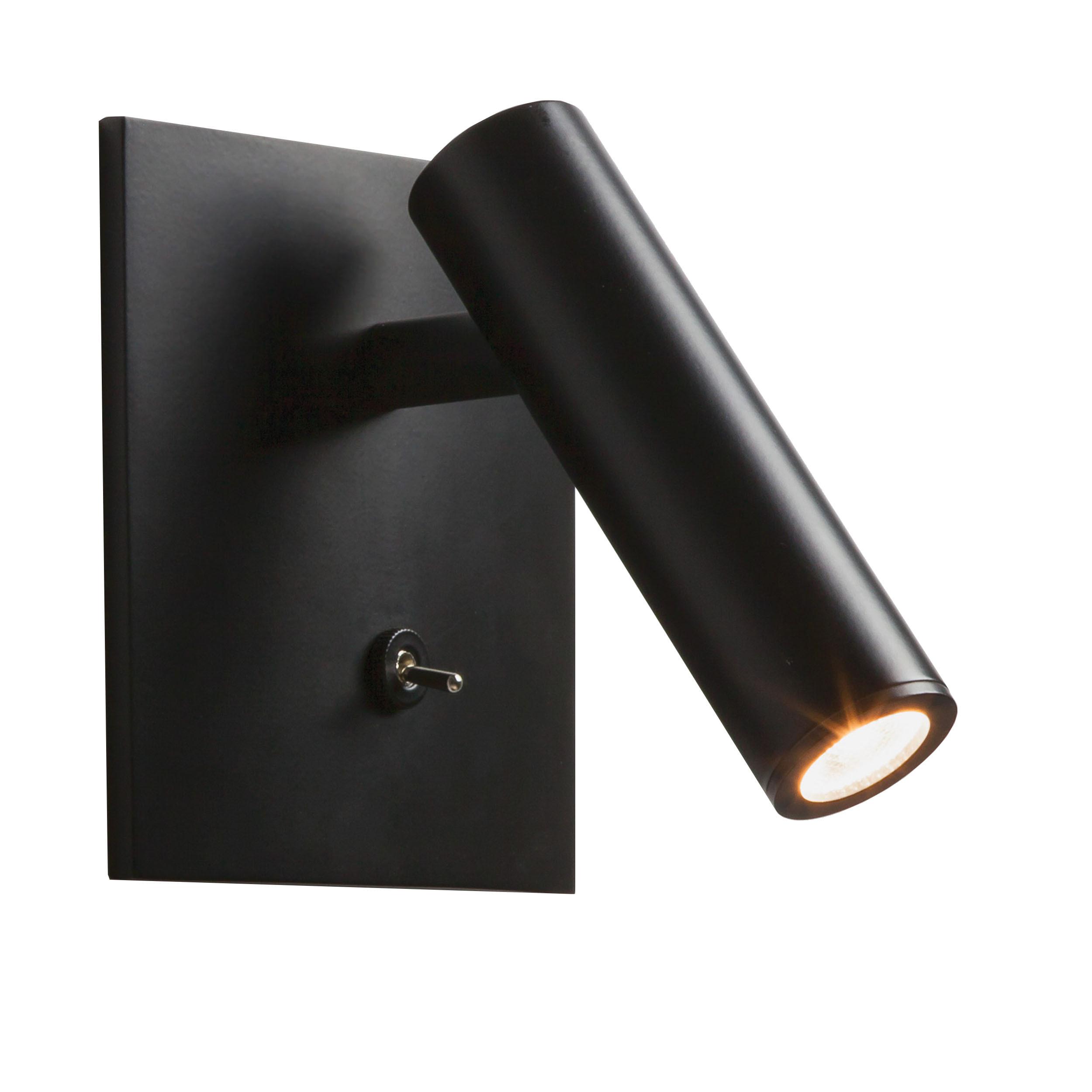 enna square led wandleuchte schwarz online kaufen bei woonio. Black Bedroom Furniture Sets. Home Design Ideas