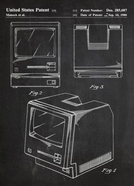 First Computer Leinwandbild