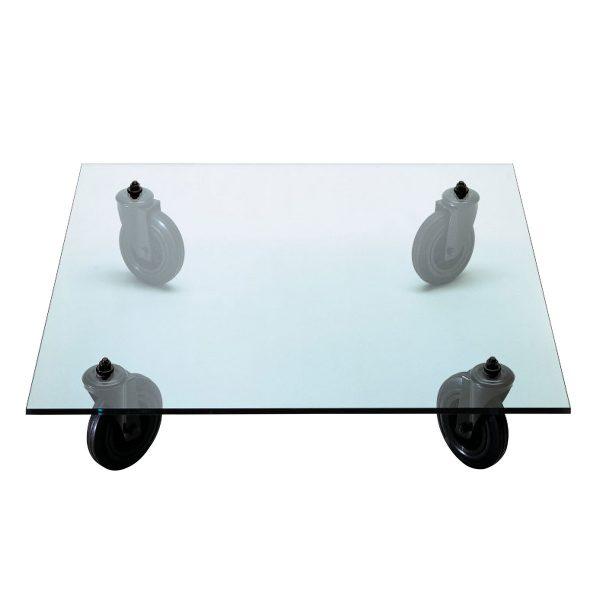 FontanaArte - Tavolino con ruote Sofatisch