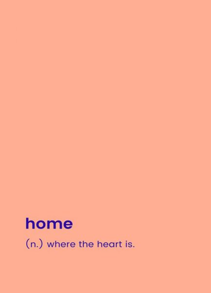 For the New Home Leinwandbild