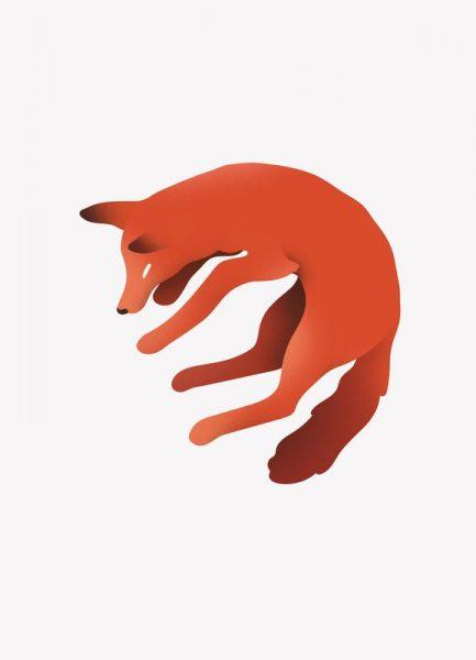 Foxy Leinwandbild
