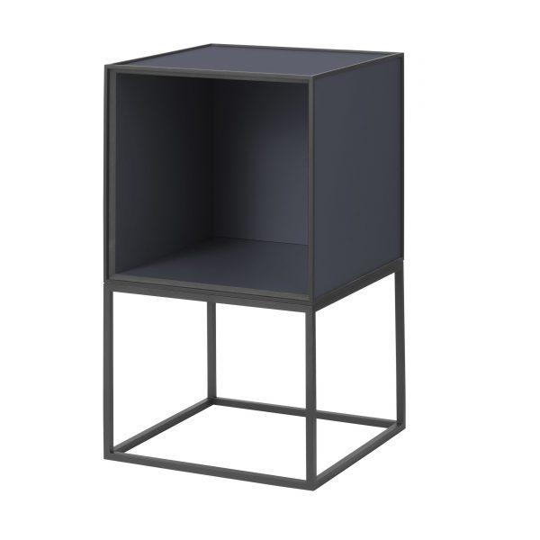 Frame Beistelltisch 35 schwarz