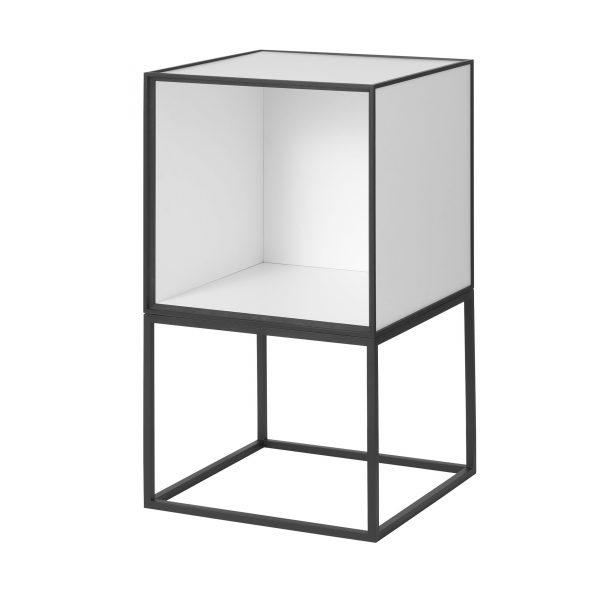 Frame Beistelltisch 35 weiß