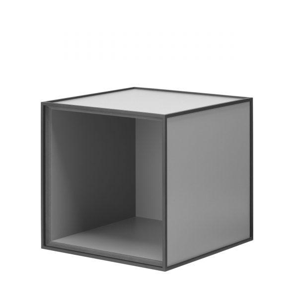 Frame Box ohne Tür 28 dunkelgrau
