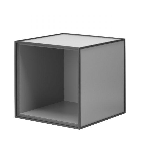 Frame Box ohne Tür 35 dunkelgrau