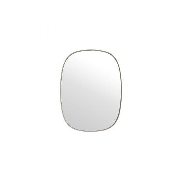 Framed Spiegel S grau