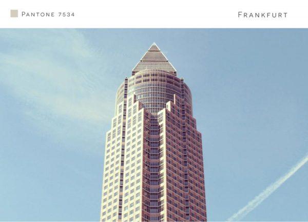 Frankfurt 7534 Leinwandbild