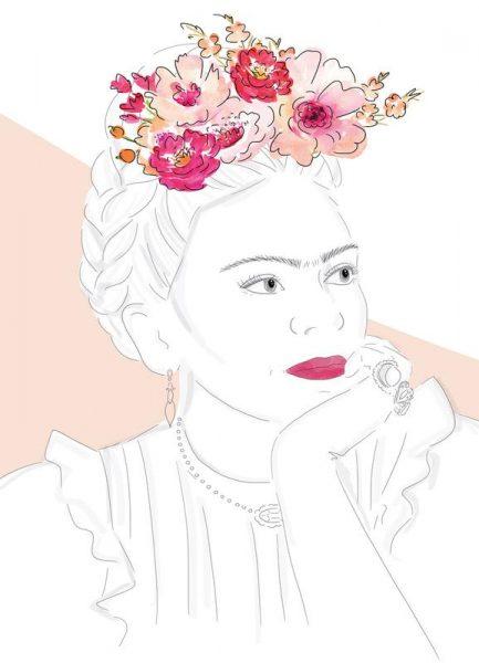 Frida Leinwandbild