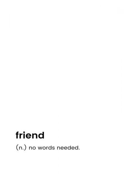 Friend Leinwandbild