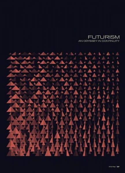 Futurism 6 Leinwandbild