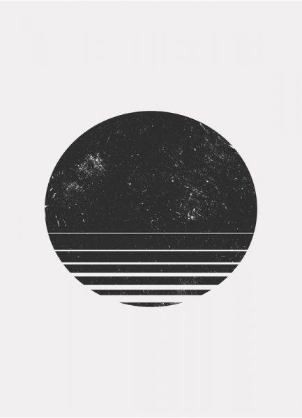 Geometric Space Leinwandbild
