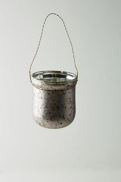 Gesprenkeltes Kerzenglas zum Aufhängen - Lilac44373215EU