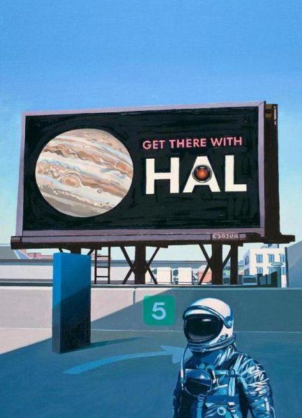Get There With HAL Leinwandbild