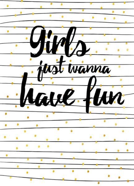 Girl Fun Leinwandbild