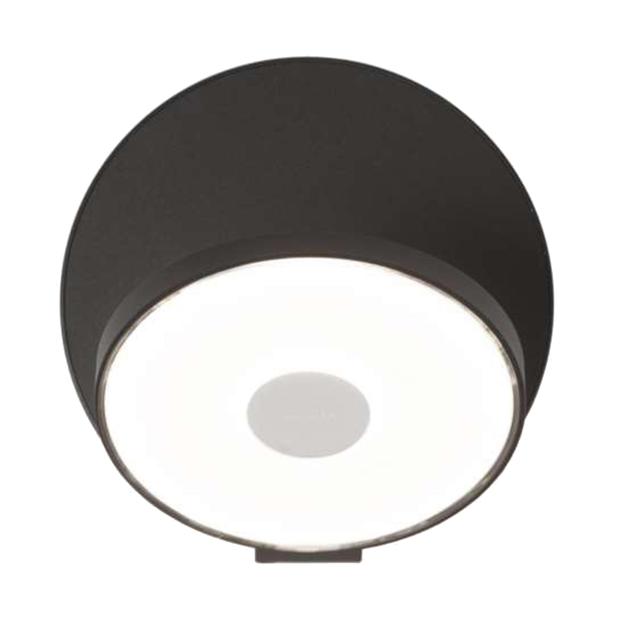 gravy led wandleuchte schwarz online kaufen bei woonio. Black Bedroom Furniture Sets. Home Design Ideas