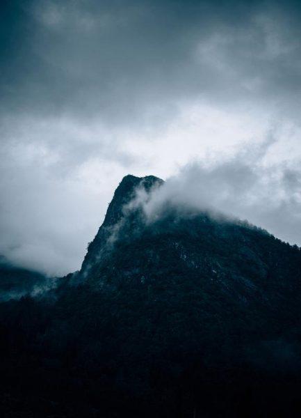 Grey Leinwandbild