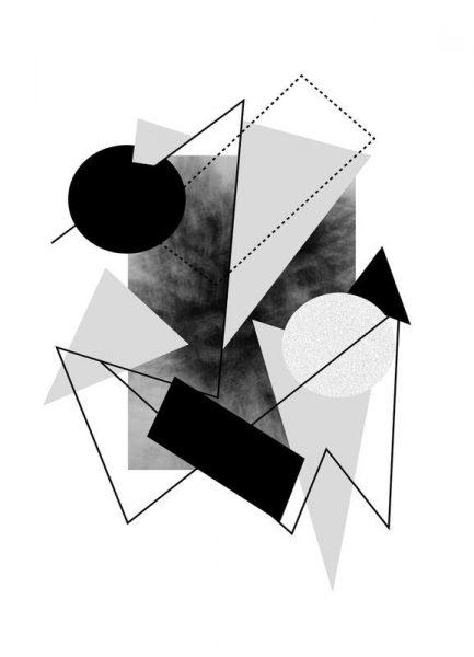 Greys Leinwandbild