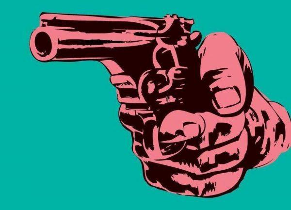 Gun 3 Leinwandbild