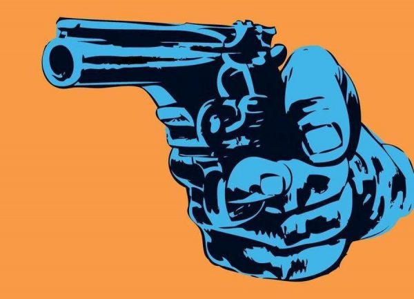 Gun 4 Leinwandbild