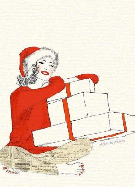 Happy Christmas Leinwandbild