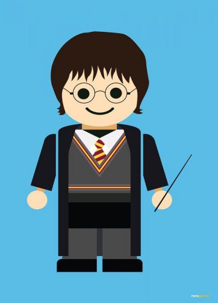 Harry Potter Toy Leinwandbild