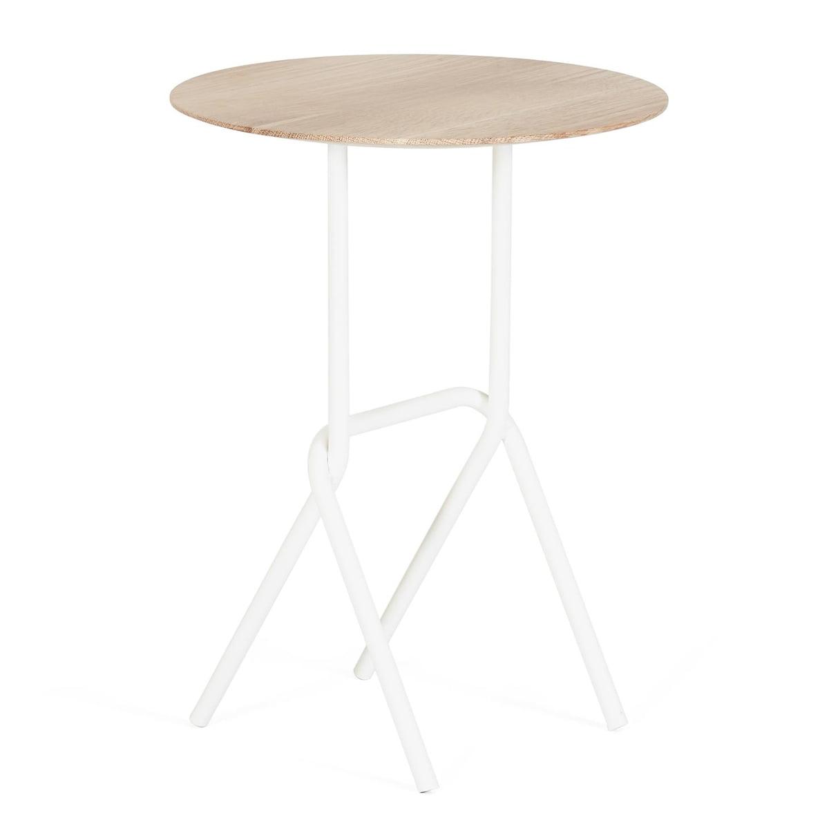 hart d sir beistelltisch 40 cm verkehrswei ral 9016 verkehrswei ral 9016 h 52. Black Bedroom Furniture Sets. Home Design Ideas