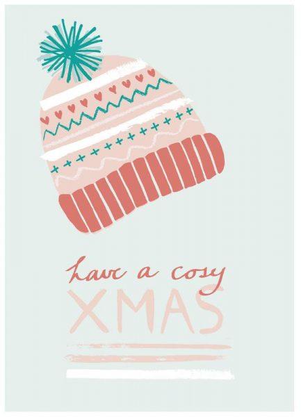 Have a Cosy Christmas Leinwandbild