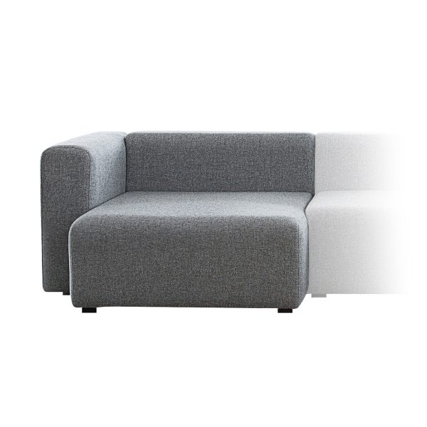 Hay - Mags Wide Chaise Longue Module Short (Art. 8262)