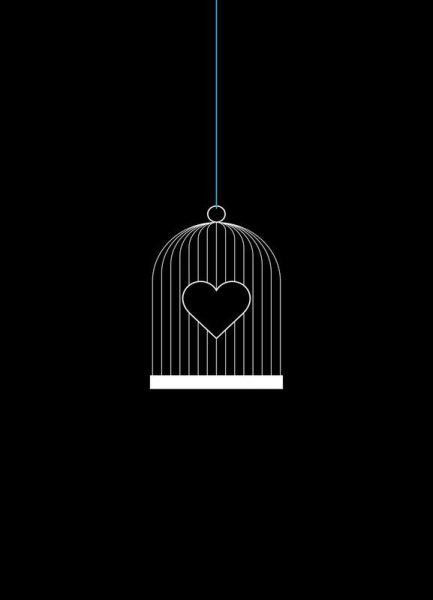Heart Cage Leinwandbild