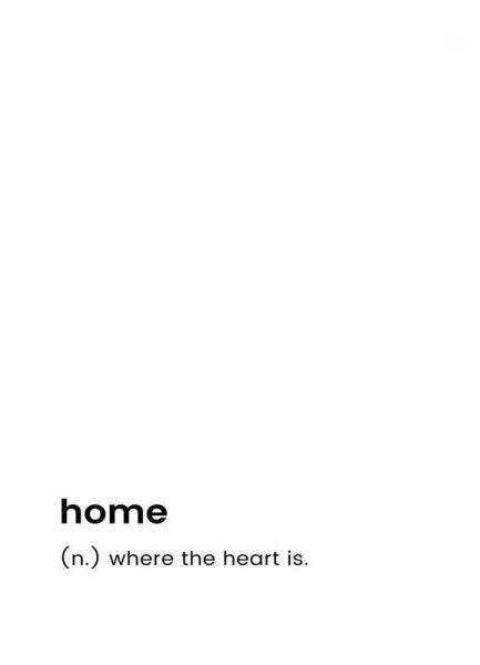 Home Leinwandbild