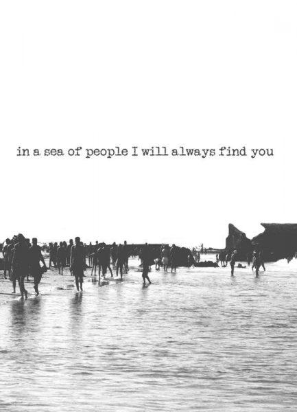 I´ll Find You Leinwandbild