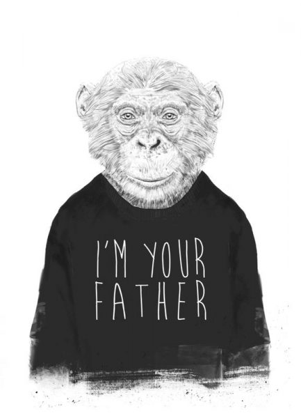 I´m Your Father Leinwandbild