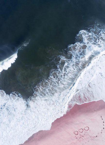 I Love the Sea Heart and Soul Leinwandbild