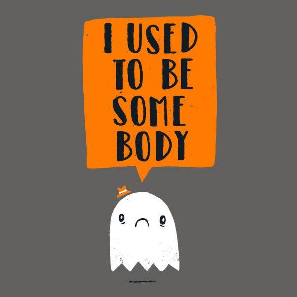 I Used to Be Some Body Leinwandbild