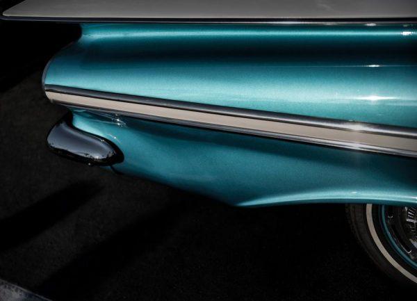 Impala Turquoise Leinwandbild