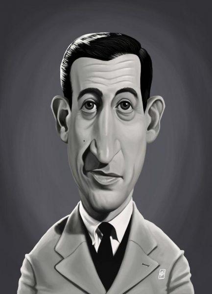 J.D. Salinger Leinwandbild