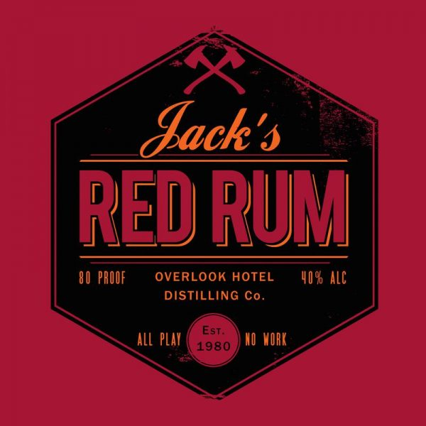 Jacks Red Rum Leinwandbild