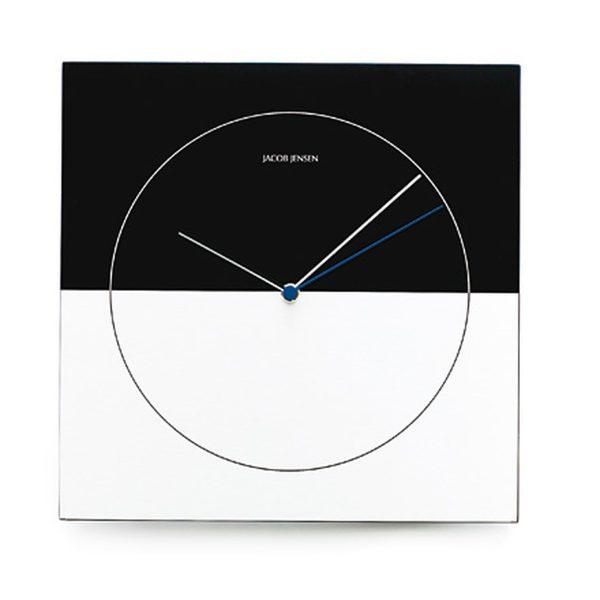 Jacob Jensen - Classic Wall Clock Nr. 315Schwarz/WeißT:2 H:29 B:29