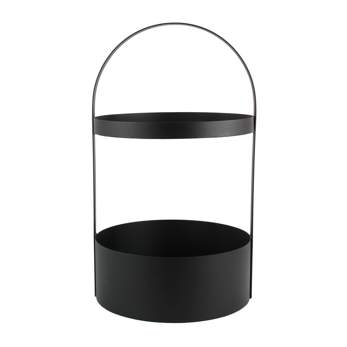 jan kurtz polytable beistelltisch schwarz schwarz h 65. Black Bedroom Furniture Sets. Home Design Ideas
