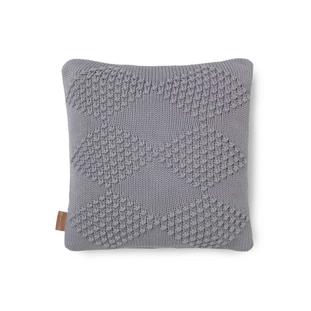 juna diamond kissen 45 x 45 cm grau grau t 45 b 45 online kaufen bei woonio. Black Bedroom Furniture Sets. Home Design Ideas