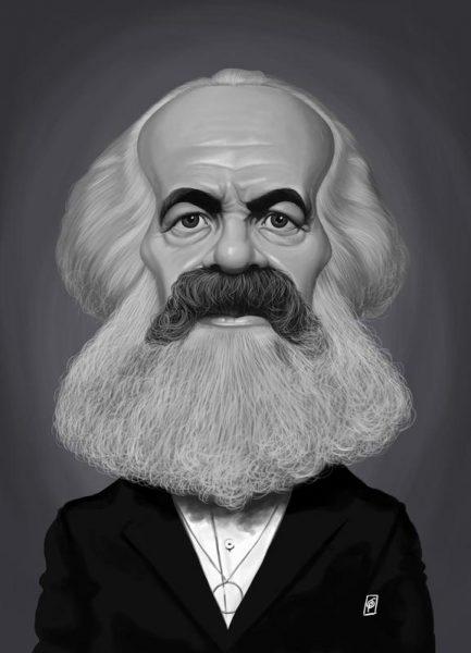 Karl Marx Leinwandbild