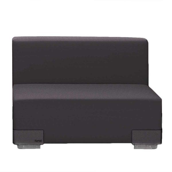 Kartell - Plastics Sofa Einzelelement mit Rückenlehne