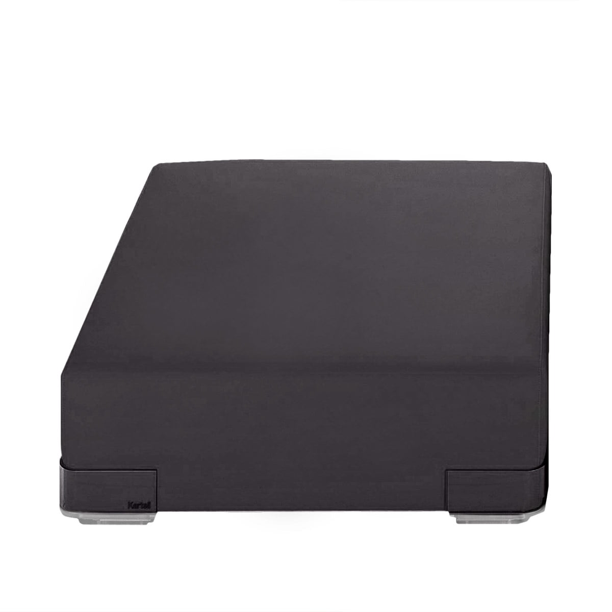 kartell plastics sofa einzelelement ohne r ckenlehne schwarz schwarz t 90 h 30 b 90 online. Black Bedroom Furniture Sets. Home Design Ideas